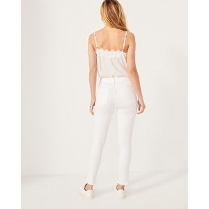 "Abercrombie & Fitch ""Simone"" High Rise Ankle Jeans"